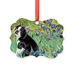 5.5x7.5-Irises-Boston4.png Picture Ornament