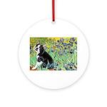 5.5x7.5-Irises-Boston4.png Ornament (Round)