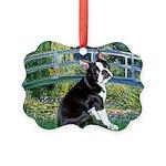 Boston Terrier 4 - The Bridge Picture Ornament