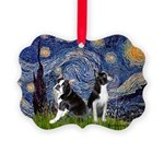 Starry Night & Bos Ter Picture Ornament