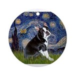 5.5x7.5-Starry-Boston4.png Ornament (Round)
