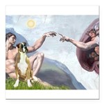 5.5x7.5-Creation-Boxer2nat.png Square Car Magnet 3