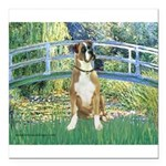 TILE-Bridge1-Boxer2nat.png Square Car Magnet 3