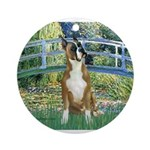 TILE-Bridge-Boxer1up.png Ornament (Round)