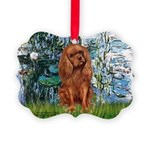 MP-LILIES1-Cav-Ruby7.tif Picture Ornament