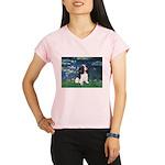 3-LILIES1-Cav-Tri6.png Performance Dry T-Shirt
