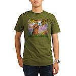 MP-Gardn-M-LHDachs.png Organic Men's T-Shirt (dark