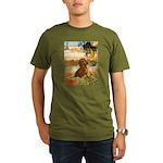 GardenVG-Dachs1.png Organic Men's T-Shirt (dark)
