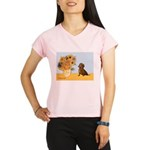 SUNFLOWERS-Dachs1.png Performance Dry T-Shirt