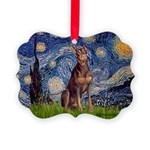 MP-STARRY-Dobie-Red-Sheenasit.png Picture Ornament