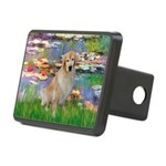 MP-Lilies-GoldBoomr.png Rectangular Hitch Cover