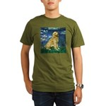MP-LILIES5-Golden-Banjo-LT.png Organic Men's T-Shi