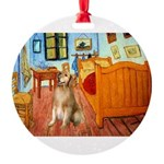 5.5x7.5-ROOM-Golden5j.png Round Ornament