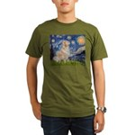 MP-Starry-GoldBoomr.png Organic Men's T-Shirt (dar
