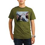 MP-Creation-BlkLab3..PNG Organic Men's T-Shirt (da
