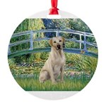 Bridge-YellowLab7.png Round Ornament