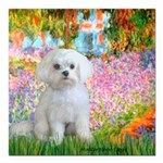 MP-GARDEN-Maltese-Rocky.png Square Car Magnet 3