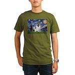 STARRY-Newfie-Landseer4.png Organic Men's T-Shirt