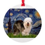 5.5x7.5-Starry-OES-Stand6.PNG Round Ornament