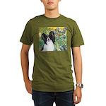 3-MP-IRISES-Papi1.png Organic Men's T-Shirt (dark)