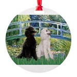 card-Bridge-PoodlePR-ST.PNG Round Ornament
