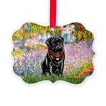 MP-GARDEN-M-Pug-Blk14.png Picture Ornament