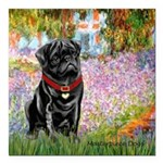 MP-GARDEN-M-Pug-Blk14.png Square Car Magnet 3