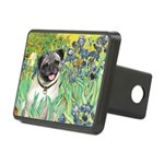 IRISES-Pug18-fawnsmile.png Rectangular Hitch Cover