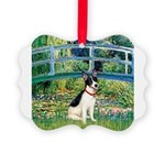 Rat Terrier - Bridge.png Picture Ornament