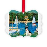 Rat Terrier - Sailboats.png Picture Ornament