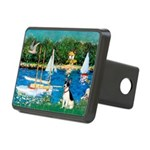 Rat Terrier - Sailboats.png Rectangular Hitch Cove