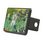 5.5x7.5-Irises-WestieSab.png Rectangular Hitch Cov