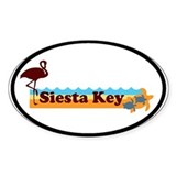 Siesta Key - Beach Design. Decal