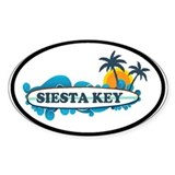 Siesta Key - Surf Design. Decal