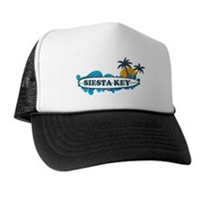 Siesta Key - Surf Design. Trucker Hat