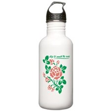 Smell The Roses Water Bottle