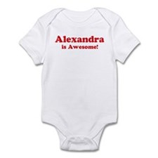 Alexandra is Awesome Infant Bodysuit