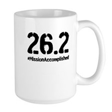 Full Marathon: Mission Accomplished (Black) Mug