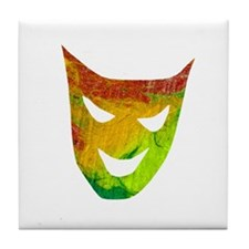 Mask 2 Tile Coaster