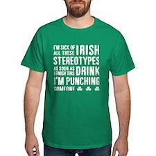 Irish Stereotypes T-Shirt
