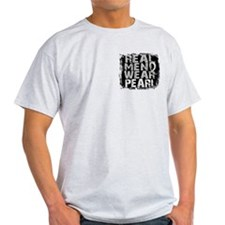 Real Men Lung Cancer T-Shirt