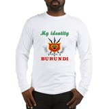 My Identity Burundi Long Sleeve T-Shirt
