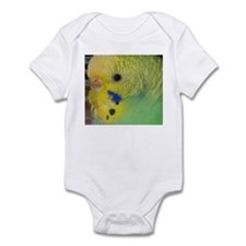 Funny Budgerigars Infant Bodysuit