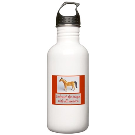 I Defeated The Dragon Stainless Water Bottle 1.0L