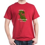 "CHARLES DARWIN ""I Evolved"" T-Shirt"