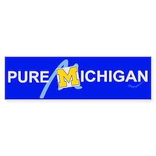 Pure Michigan Bumper Bumper Sticker