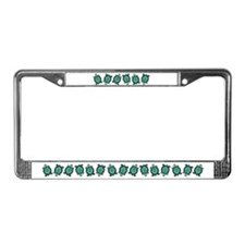 Turtle Town License Plate Frame