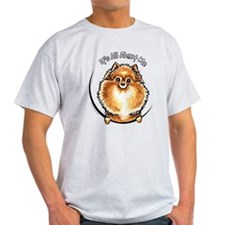 Orange Pomeranian IAAM T-Shirt