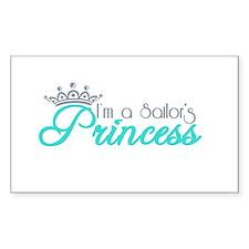 I'm a sailor's Princess!! Decal