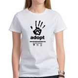 100% Cotton Women's Adopt T-Shirt Sm-2XL